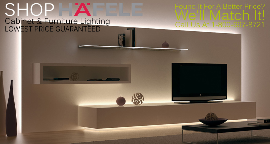 Hafele Cabinet Lighting and Furniture Lighting