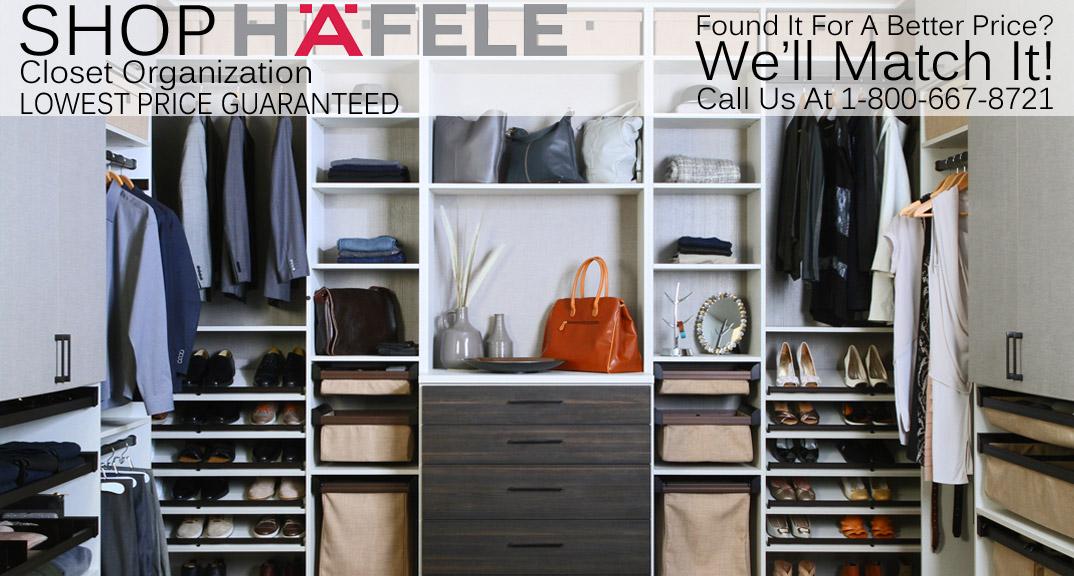Hafele Closet Organizers