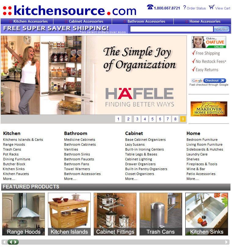 Kitchen, Bathroom & Home Organization Solutions, Furniture and ...