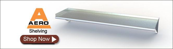 Aero Stainless Steel Shelves
