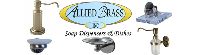 Allied Brass Soap Dispensers