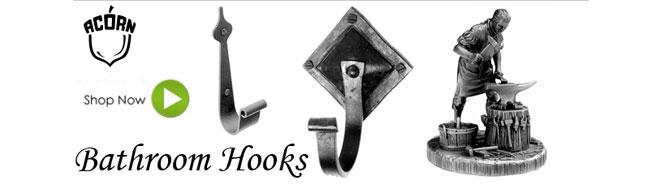 Acorn Manufacturing Bathroom Hooks
