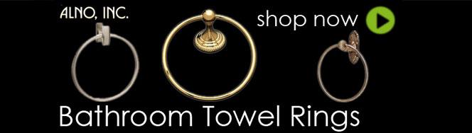 Alno Bathroom Towel Rings
