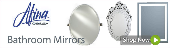 Bathroom Mirrors by Afina