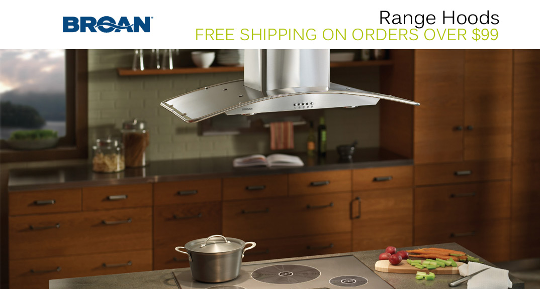 Broan Range Hoods at KitchenSource.com