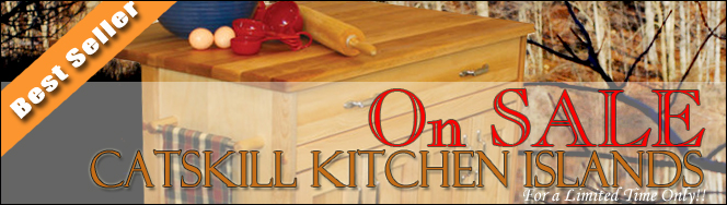 Catskill Craftsmen Kitchen Carts and Kitchen Islands on Sale