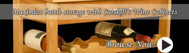 Catskill Craftsman Wine Racks