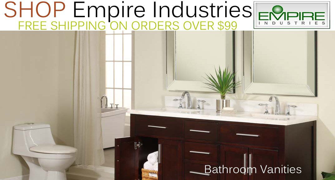 Empire Industries Bathroom Vanities on KitchenSource.com