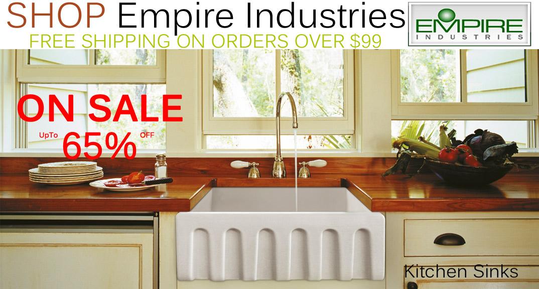 Empire Industries Kitchen Sinks on KitchenSource.com