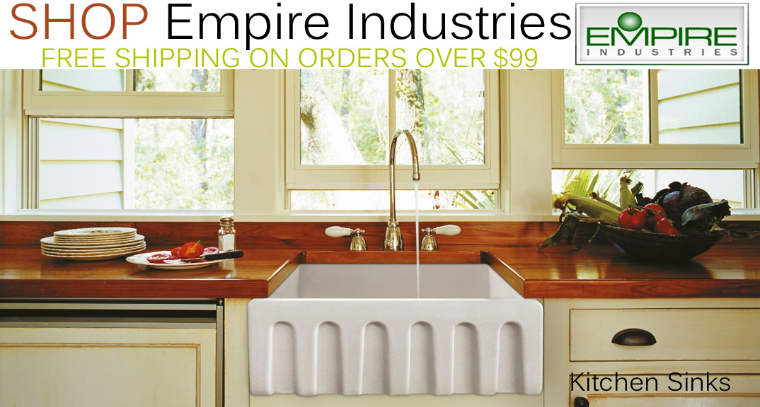 Empire Industries Kitchen Sinks on KitchenSource.com