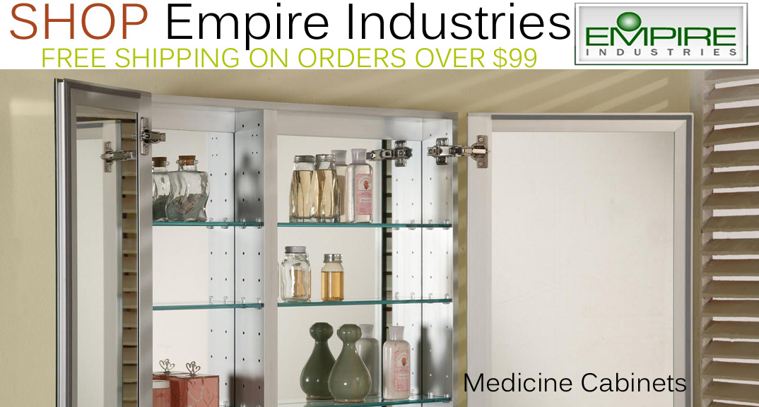 Empire Industries Medicine Cabinets on KitchenSource.com