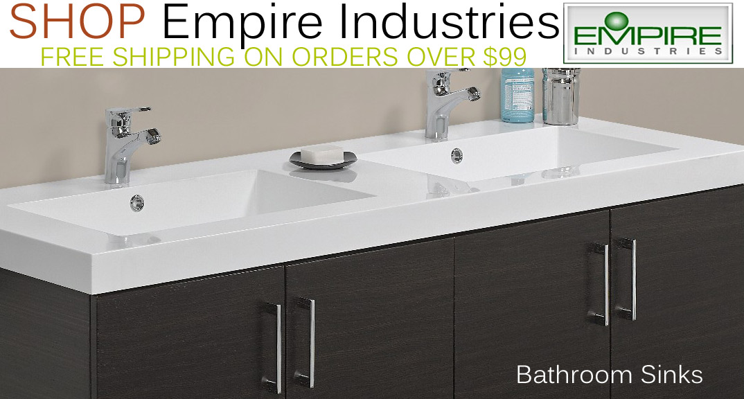 Empire Industries Bathroom Sinks on KitchenSource.com