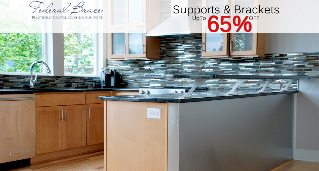 Federal Brace Supports and Brackets On Sale at KitchenSource.com