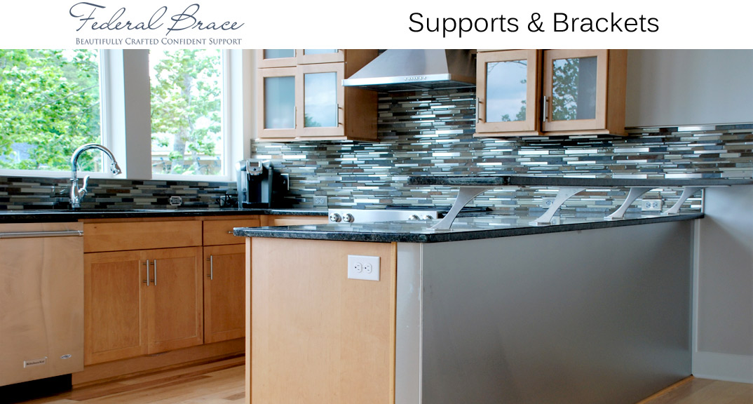 Federal Brace Supports and Brackets at KitchenSource.com