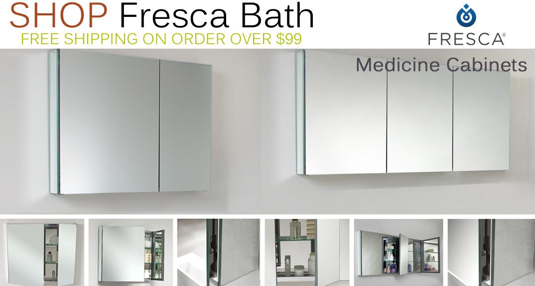 Fresca Medicine Cabinets