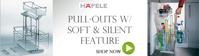 Pull-Outs with Soft & Silent Feature