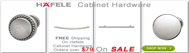 Hafele knobs and handles Cabinet Hardware on Sale