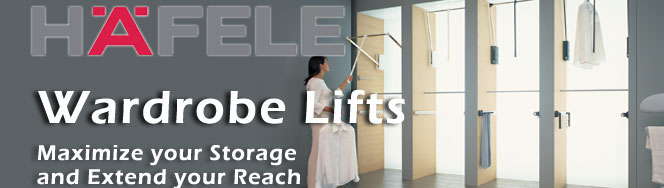 Hafele Waedrobe Lifts
