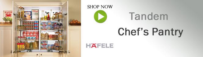 Hafele's Tandem Chef's Pantry