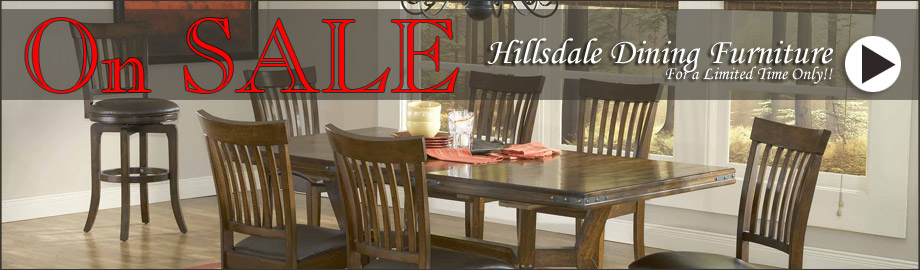 Hillsdale Dining Furniture on Sale