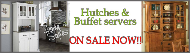 Home Styles Cupboards & Hutches On Sale Now!