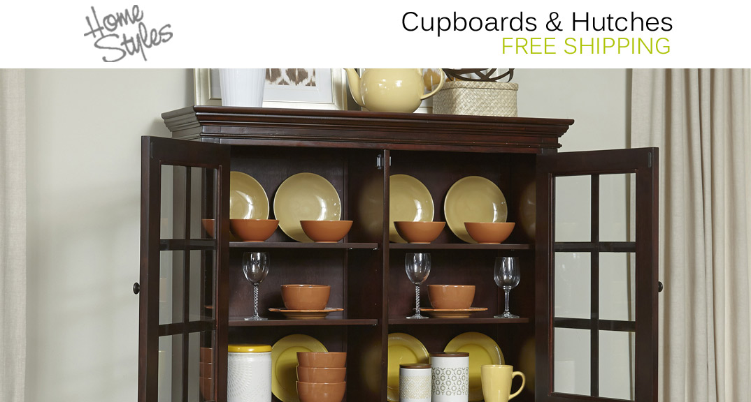 Home Styles Cupboards & Hutches at KitchenSource.com