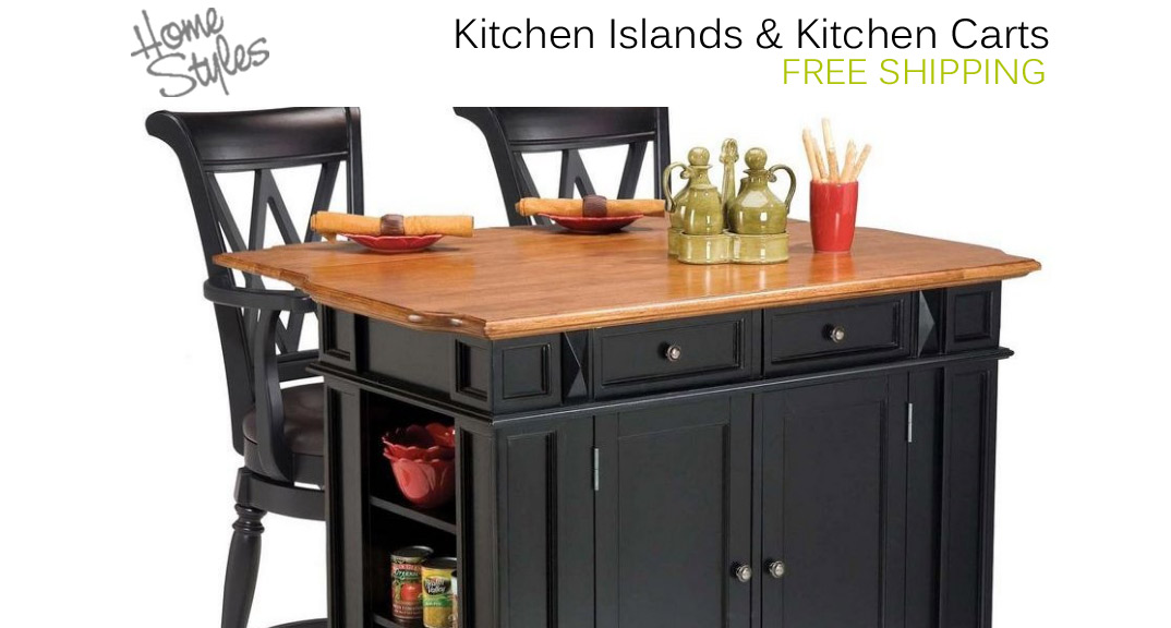 Home Styles Kitchen Islands and Kitchen Carts at KitchenSource.com