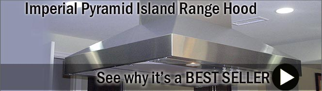 Imperial Pyramid Series Island Mount Range Hood