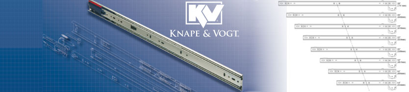 Knape & Vogt Drawer Slides