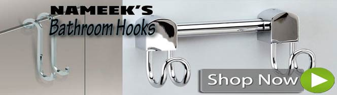 Bathroom Hooks by Nameek's