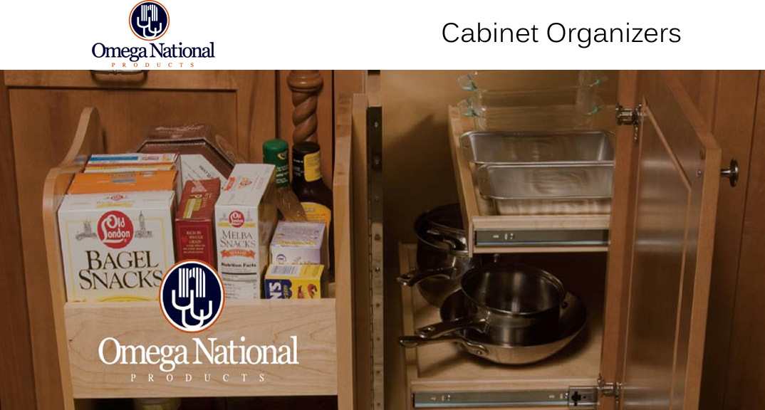 Omega National Base Cabinet Organizers at KitchenSource.com