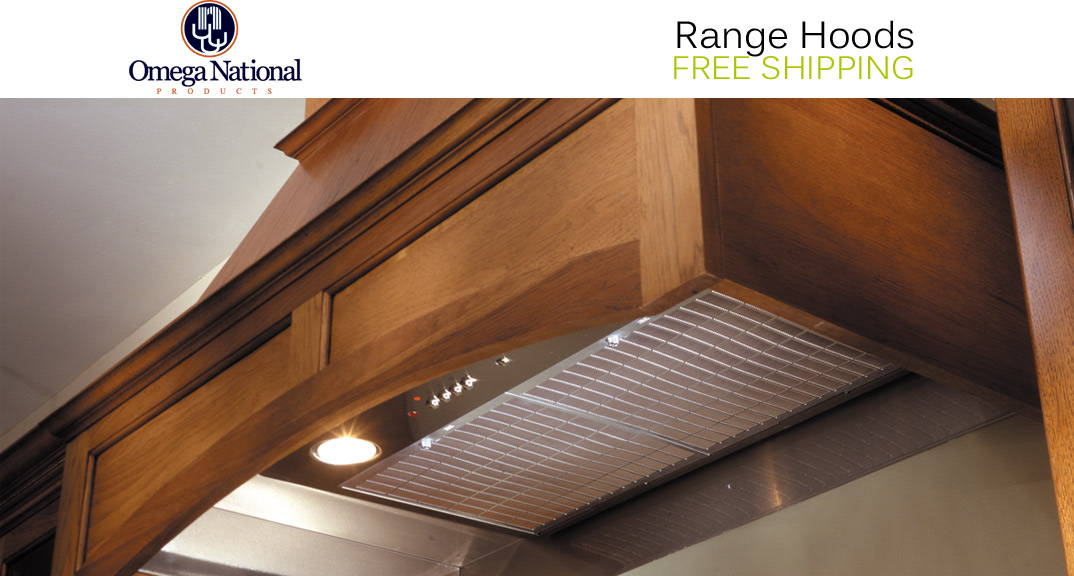 Omega National Range Hoods at KitchenSource.com