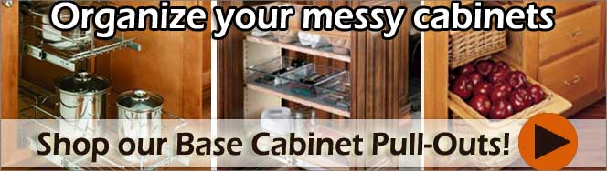 Rev-A-Shelf Base Cabinet Organizers
