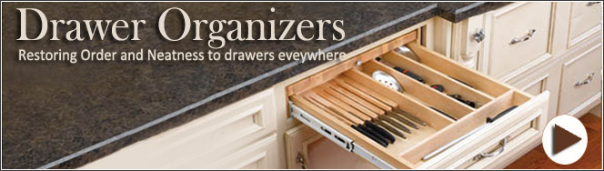 Rev-A-Shelf Drawer Organizers