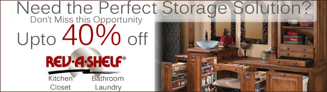 View Rev-A-Shelf Vanity Accessories On Sale
