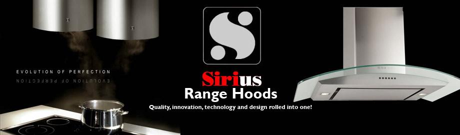 Sirius Range Hoods