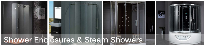 Shower Enclosures and Steam showers