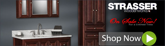 Strasser Woodenworks Bathroom Mirrors