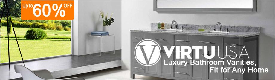 Virtu USA Bath Vanities on Sale