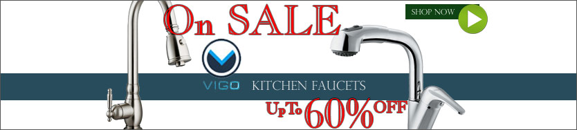 Vigo Kitchen Faucets on Sale