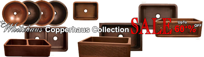 Whitehaus Copperhaus Collection Kitchen Sinks On Sale