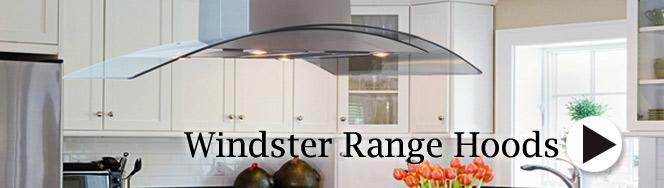 Windster Island Range Hoods