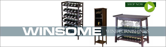 Winsome Wood Wine Furnishings