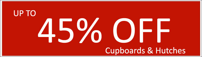 Today's Deals, Cupboards & Hutches On Sale Now!
