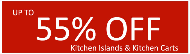 Today's Deals, Kitchen Islands and Kitchen Carts On Sale Now!