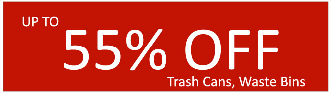 Today's Deals, Trash Cans and Wast Bins On Sale Now!