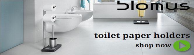 Blomus Bathroom Toilet Paper Holders