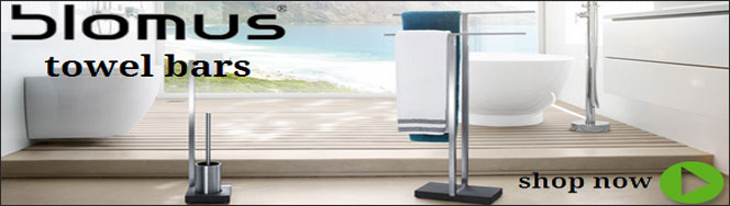 Blomus Bathroom Towel Bars