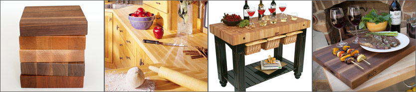 Butcher Blocks - Butcher Block Counter Tops, Butcher Block Carts & Islands,Butcher Block Cutting Boards