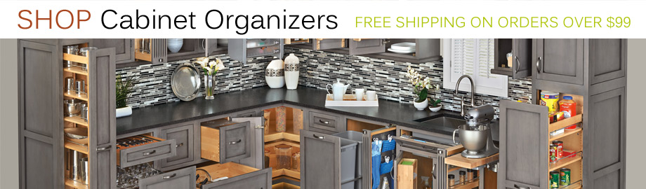 Kitchen Cabinet Organizers